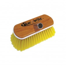 """Soft Wash Brush - Wood Block 8"""" with Bumper Brush (Yellow)"""