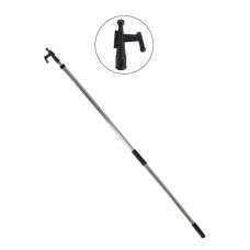 Big Boat Extending Handle 5'-10' with Boat Hook - 040055
