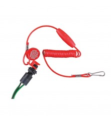 Kill Switch - With Emergency Cut off Switch & Coiled Lanyard