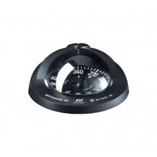 Offshore Compass 95, Flush Mount Type, Black Flat Card - Black Color
