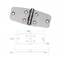 Stainless Steel Hinge 304 Model No: 52554
