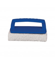 Scrub Pad with Handle (Fine) White