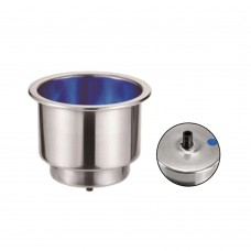Blue LED Drink / Can Holder Model: 54099-02BU