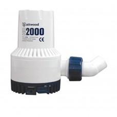 Attwood Bilge Pump 2000GPH - 12V