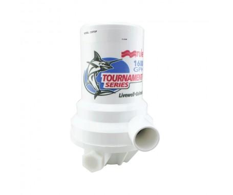 Tournament Series - Dual Port 1600 GPH Livewell Pump