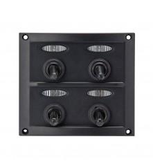 4 Gang Switch Panel Model: 10044-D