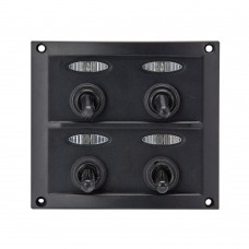 4 Gang Switch Panel Model: 10044-D