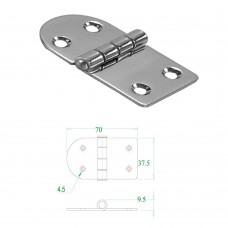 Stainless Steel Hinge 304 Model No: 52569