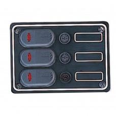 3 Gang Switch Panel