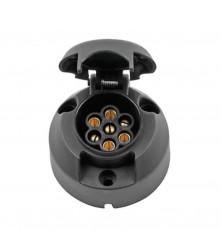 Trailer Socket - 7 Pin Round Type