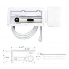 Aft-Deck Shower Kit - 6 Feet Hose (Hot/Cold)