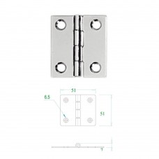 Stainless Steel Hinge 304 Model No: 52597