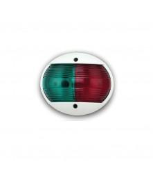 Red & Green Combination Bow Navigation Light Vertical Mount - (00095)