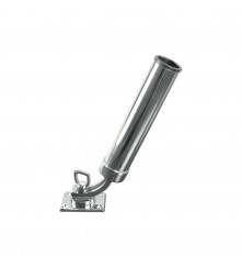 Stainless Steel Rod Holder (Adjustable Base)