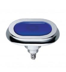 Blue Courtesy Light- Flush Mount