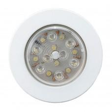LED PUSH-ON / OFF LIGHT (FM) - 00166-WH