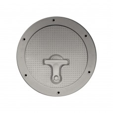 Non Skid - White Deck Plate - 8""