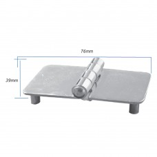 Hinge with Thread Shank M5 - AISI 304