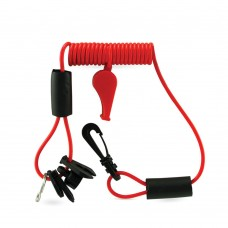 4 Kill Switch Keys - With Lanyard & Whistle